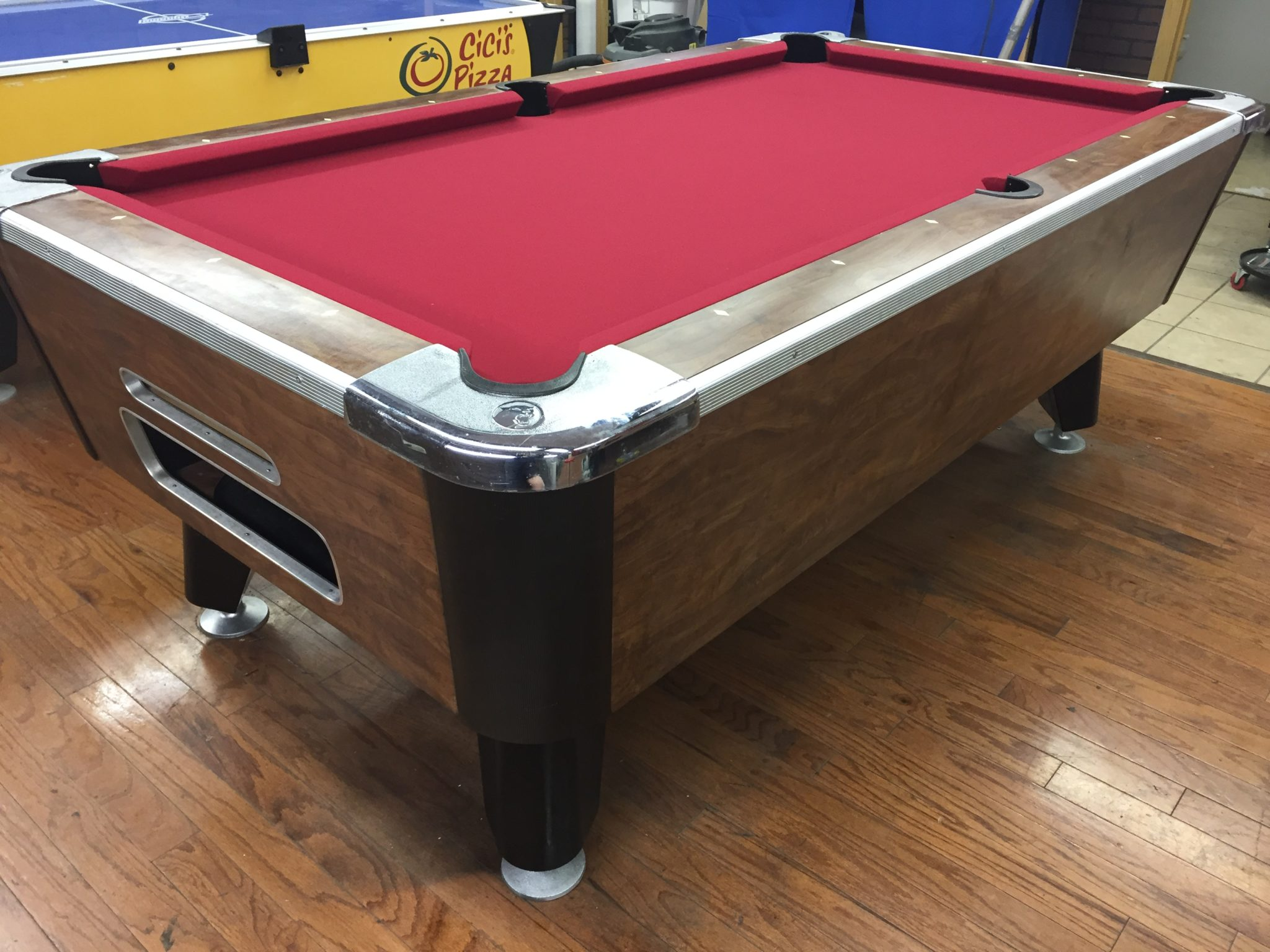 Stupendous Coin Operated Bar Pool Tables Pdf Unitypoint Walk In West Home Interior And Landscaping Ologienasavecom