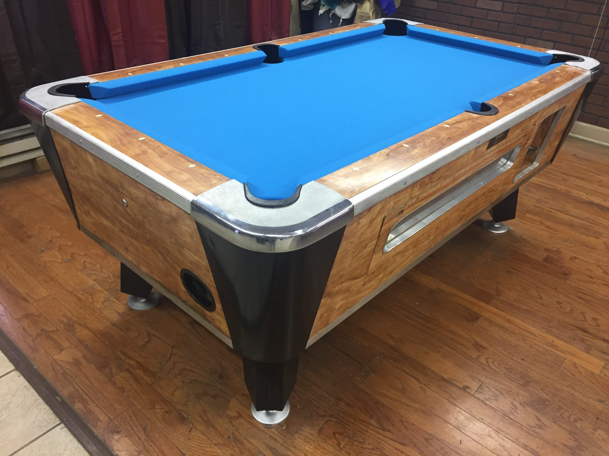 fairfax tables amf chesapeake pool billiards products table used image