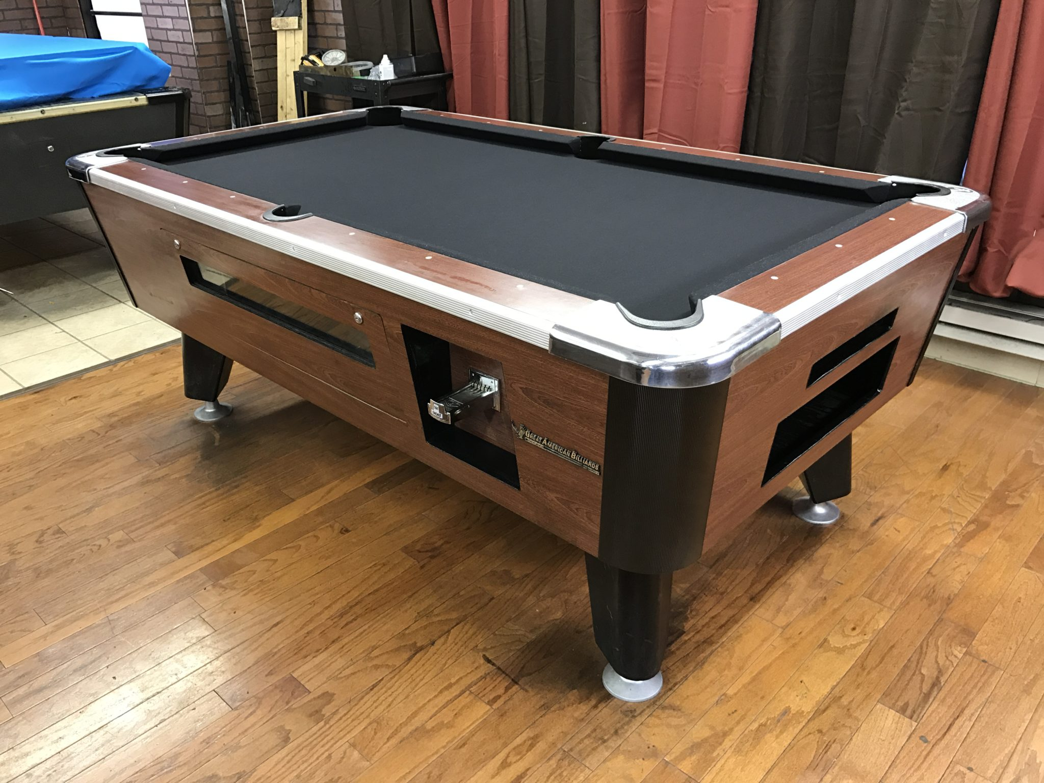 Table Great American Used Coin Operated Pool Table Used - Great american pool table