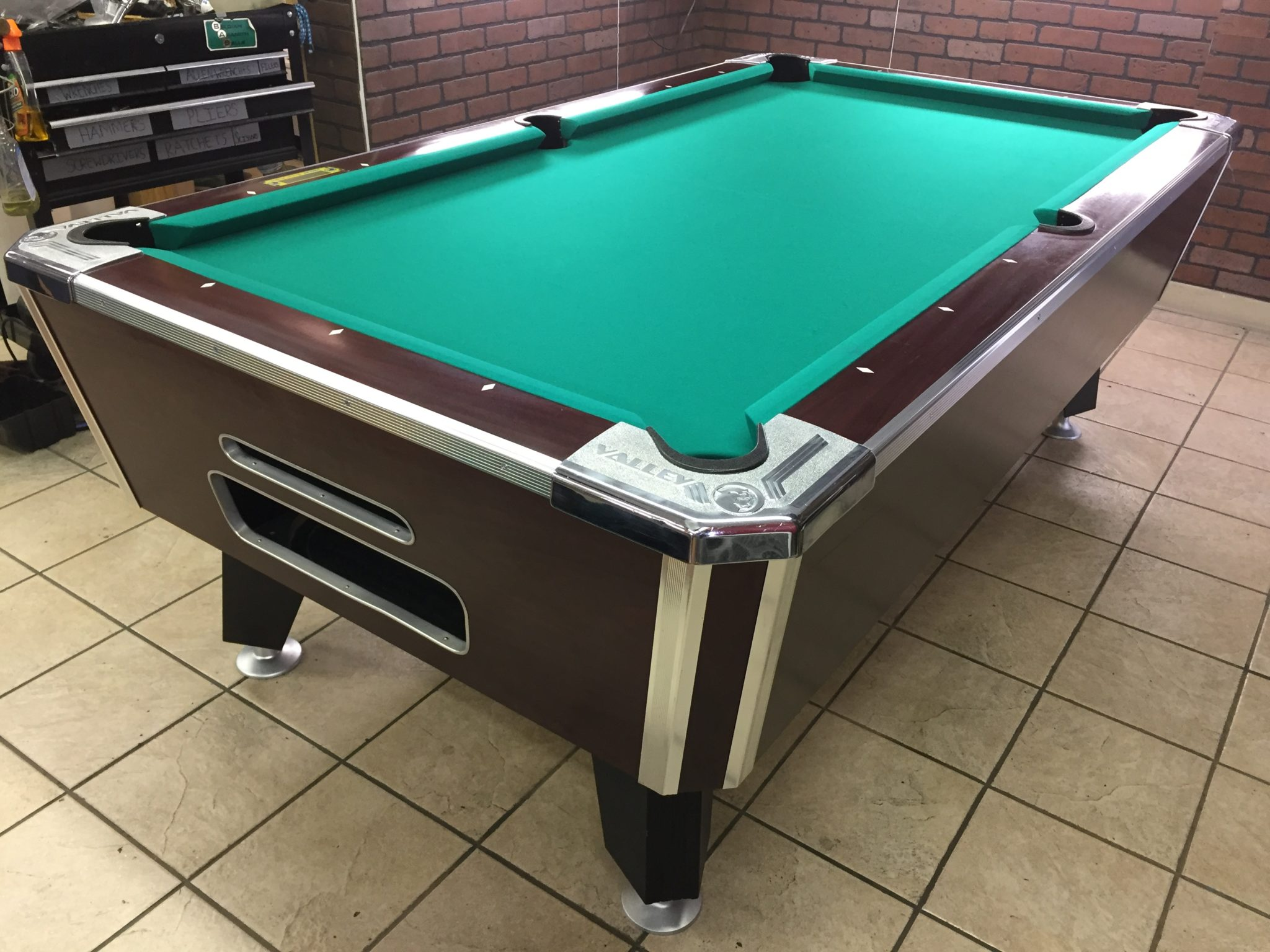 Table 041117 valley used coin operated pool table used - Pool table images ...