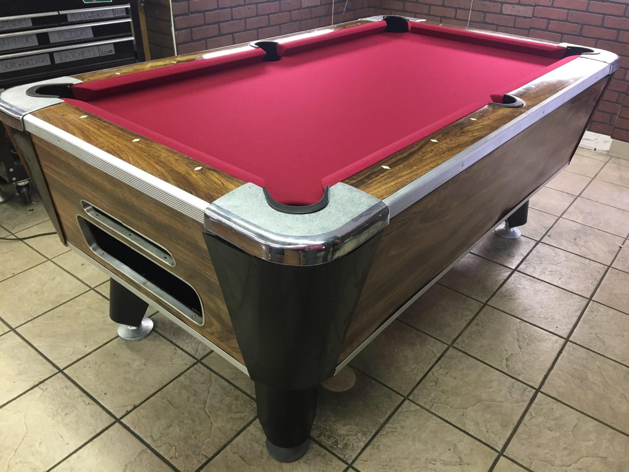 Sold Coin Operated Bar Pool Tables Used Coin Operated Bar Pool - Six foot pool table