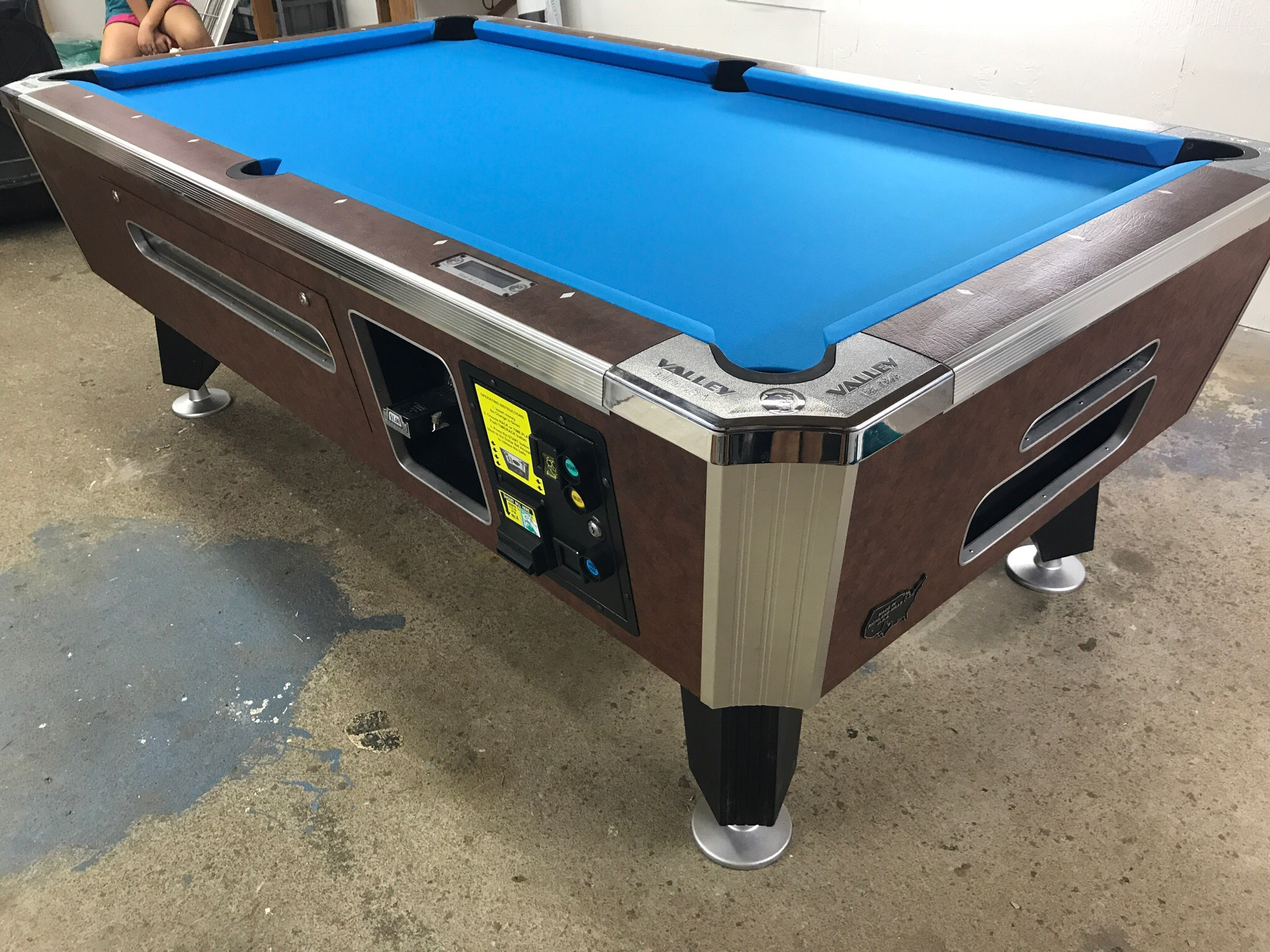 pool table coin mechanism instructions