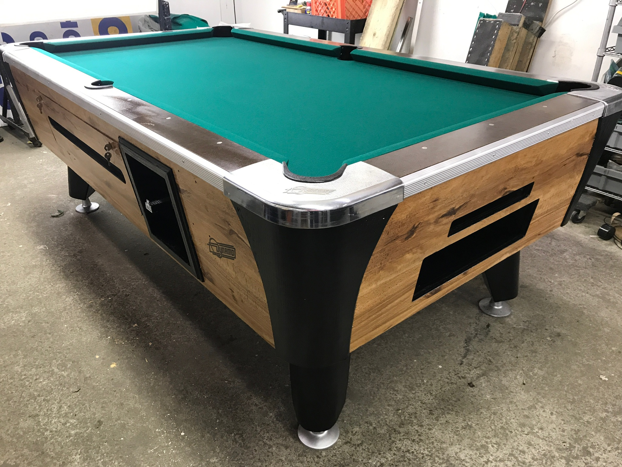 Used Coin Operated Pool Table Table Used Coin Operated Bar - Dynamo coin operated pool table