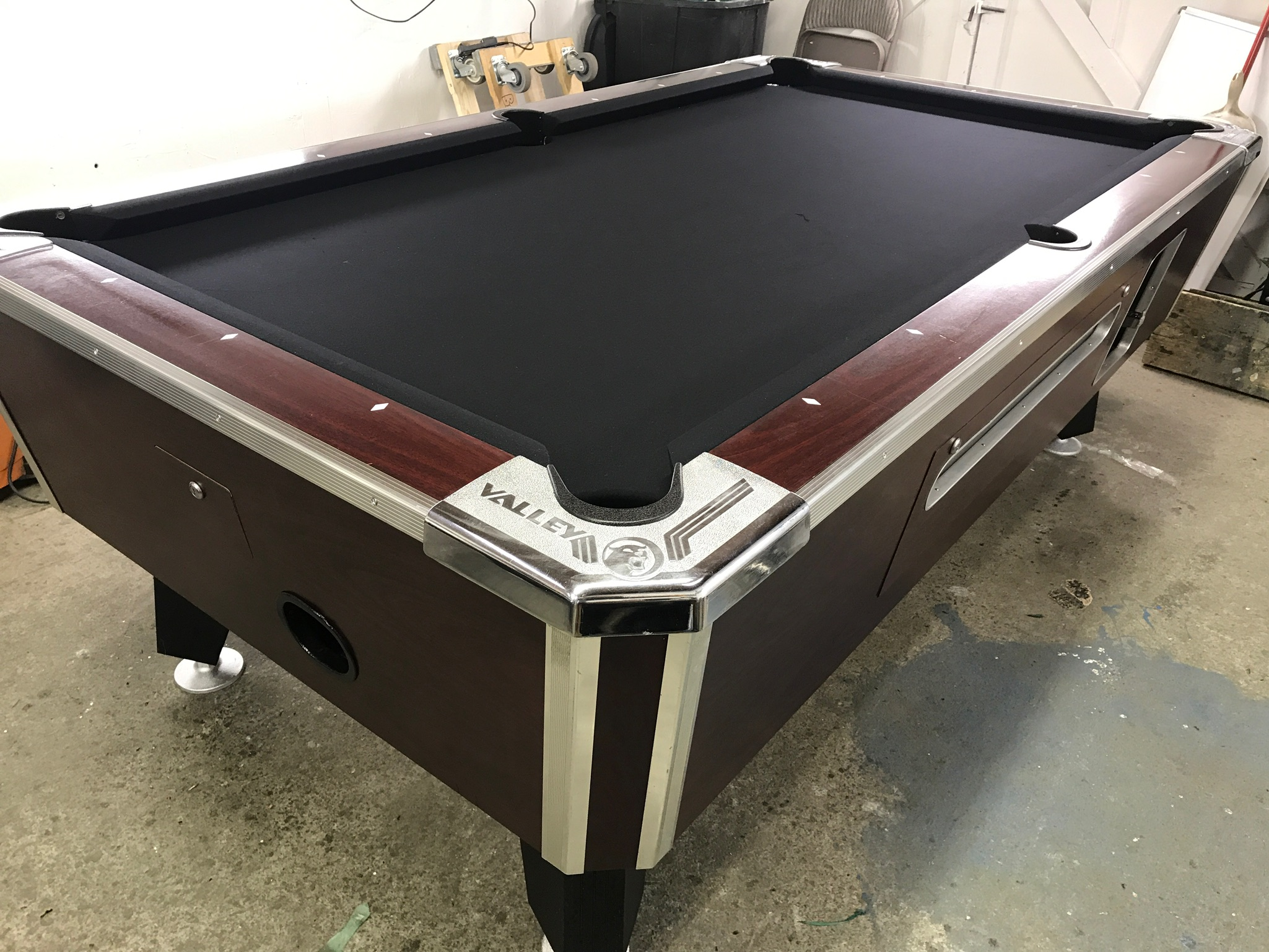 Used Coin Operated Pool Table Table Used Coin Operated Bar - Valley bar pool table for sale