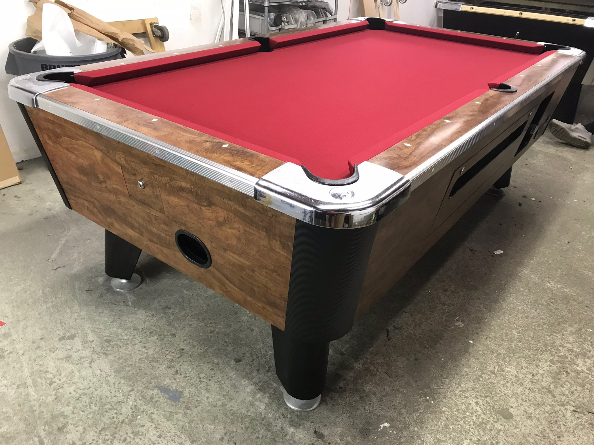 Swell Used Coin Operated Pool Table Table 022818 Used Coin Download Free Architecture Designs Itiscsunscenecom